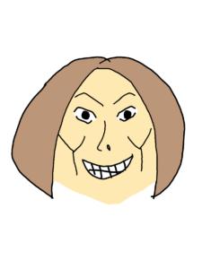米倉涼子の似顔絵