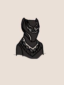 ブラックパンサースーツ